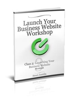 Business Website Workbook #3