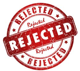 Is life rejecting you?