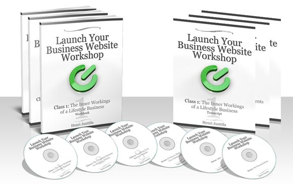 Launch Your Lifestyle Business Website Home-Study