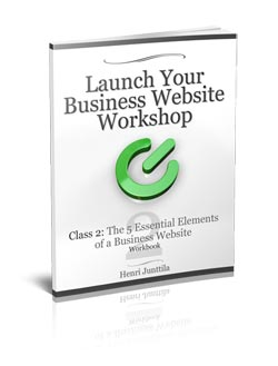 Business Website Workbook #2