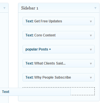 Put Your Email Newsletter Web Form in the Sidebar of Your Blog