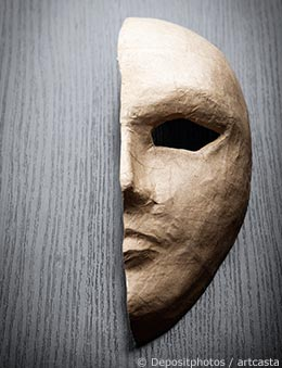Theater Mask - Feeling Like a Fraud?